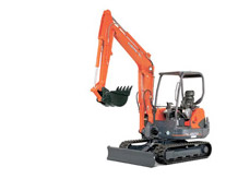 KX Series conventional tail swing excavators